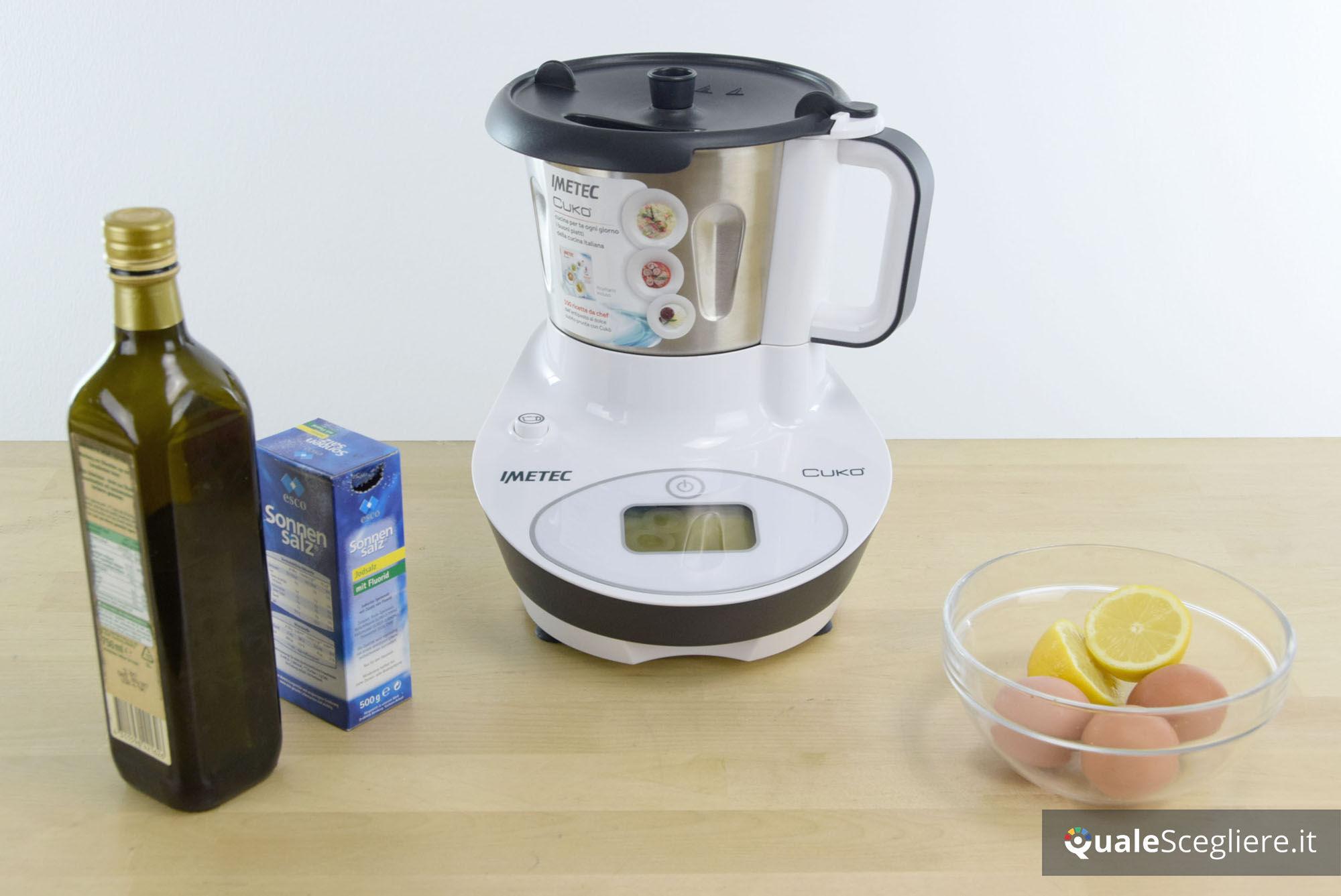 Scopri come realizzare la maionese in casa con il robot da cucina