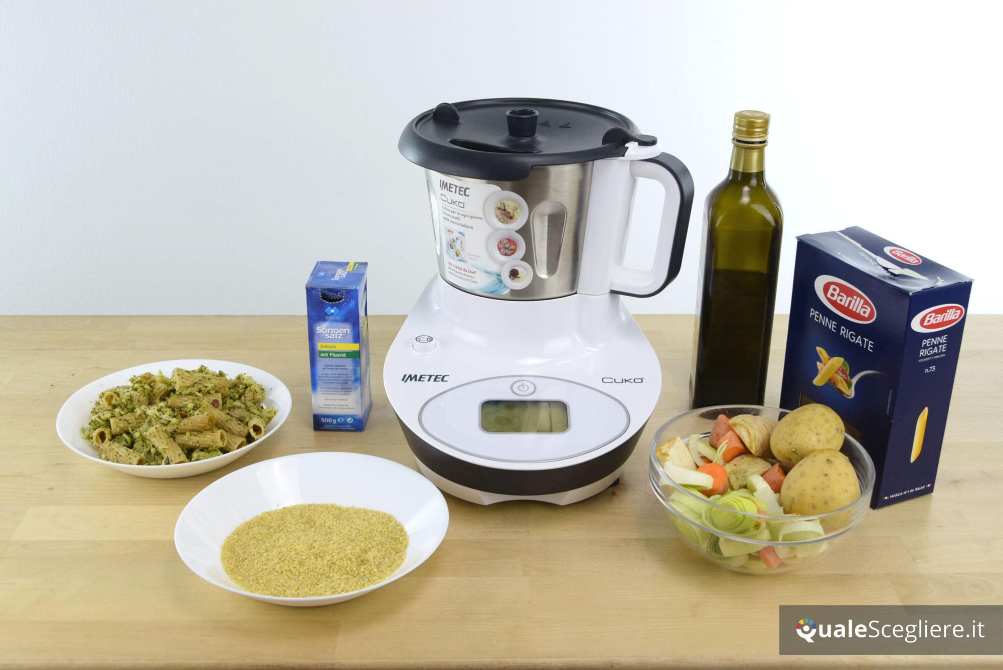 Come preparare 5 primi con il robot da cucina multifunzione