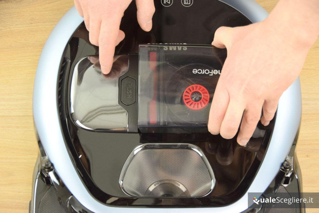 Samsung Powerbot VR7000 20 W rimozione serbatoio