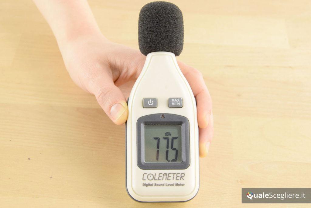Beurer HC 55 rumorosità