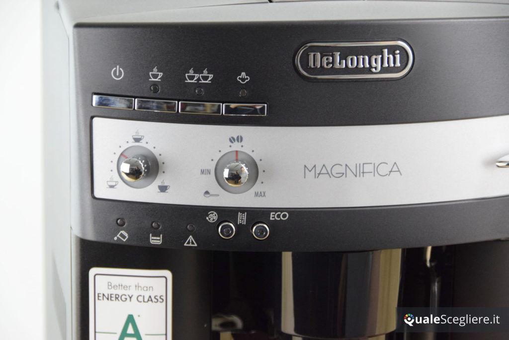 De'Longhi Magnifica ESAM 3000 pulsanti e manopole