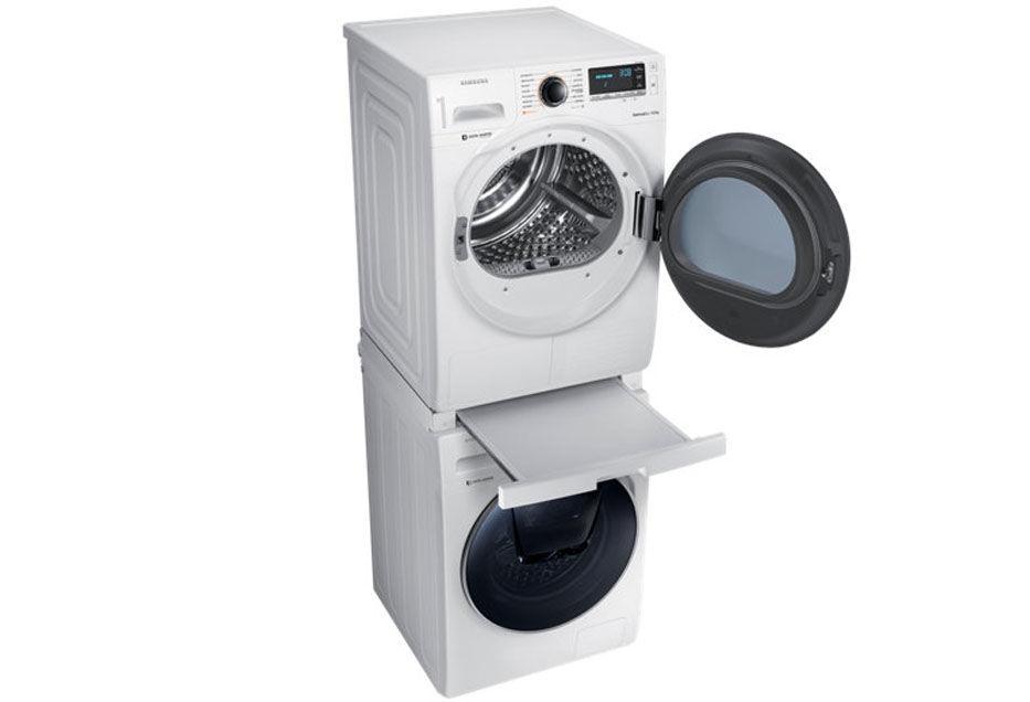 Come incolonnare lavatrice e asciugatrice in modo corretto