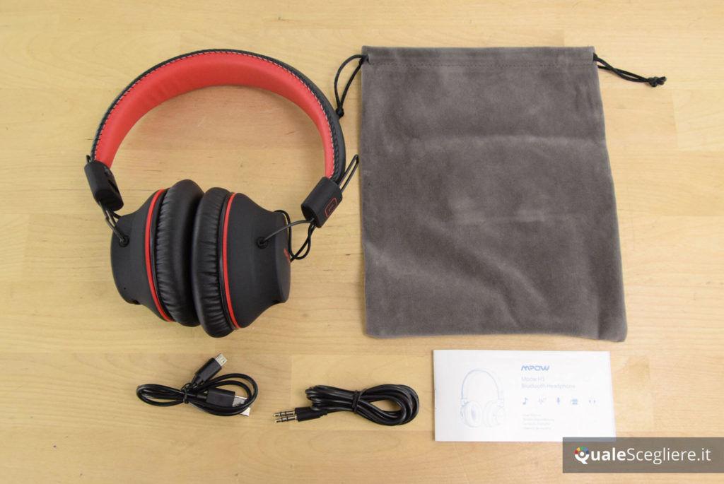 Mpow BH142A accessori