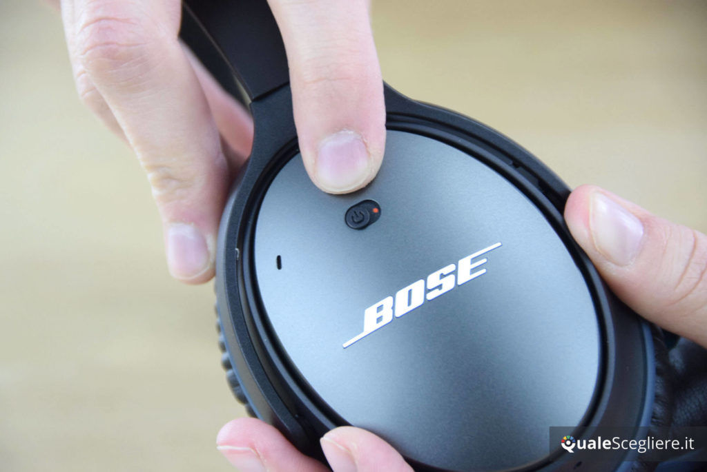 Bose QuietComfort 25 noise cancelling