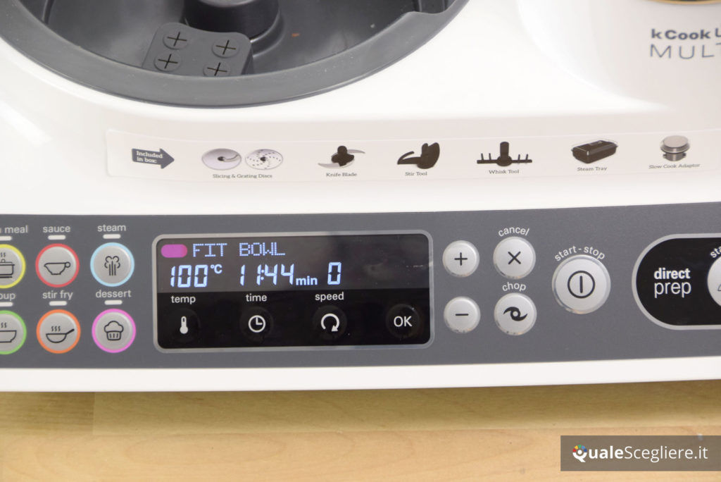 Kenwood kCook Multi CCL401WH test bollitura acqua