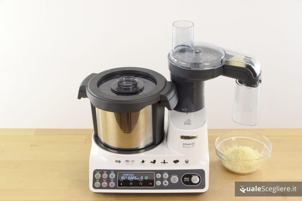 Kenwood kCook Multi CCL401WH test food processor