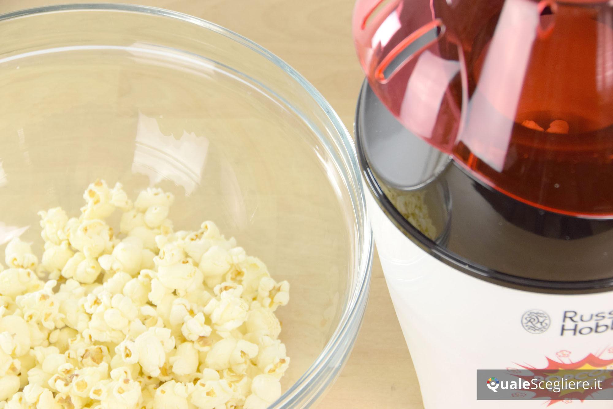 1200 W Russell Hobbs 24630-56 Macchina per Popcorn Nero//Bianco