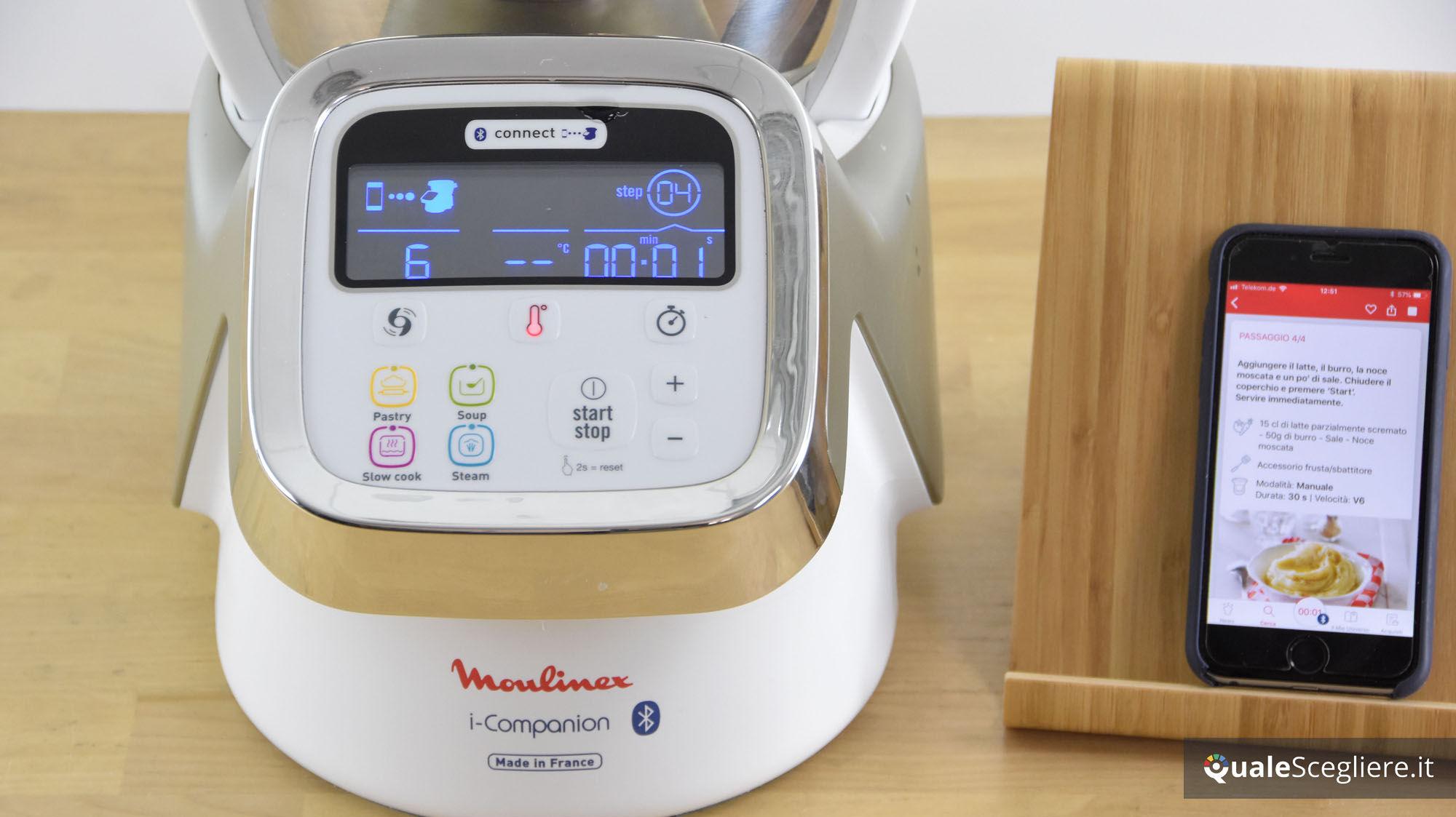 Moulinex I Companion Come Usare La Funzione Di Connettività