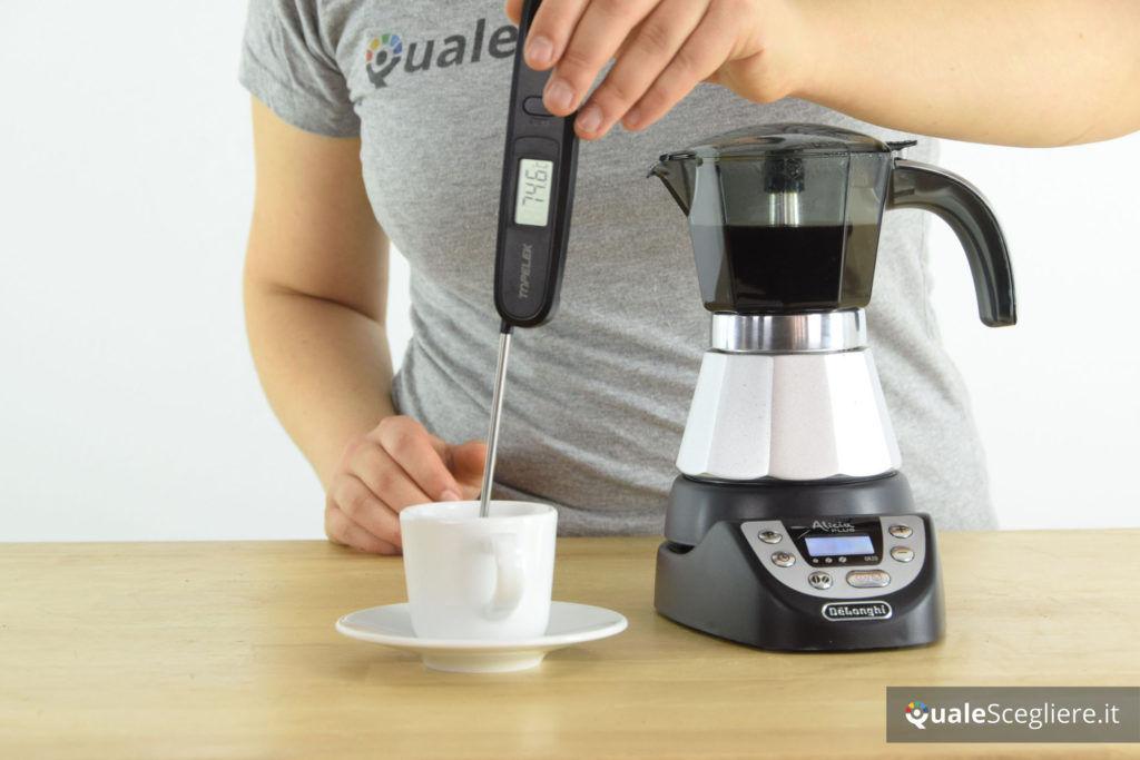 De'Longhi Alicia Plus EMKP 42.B temperatura caffè
