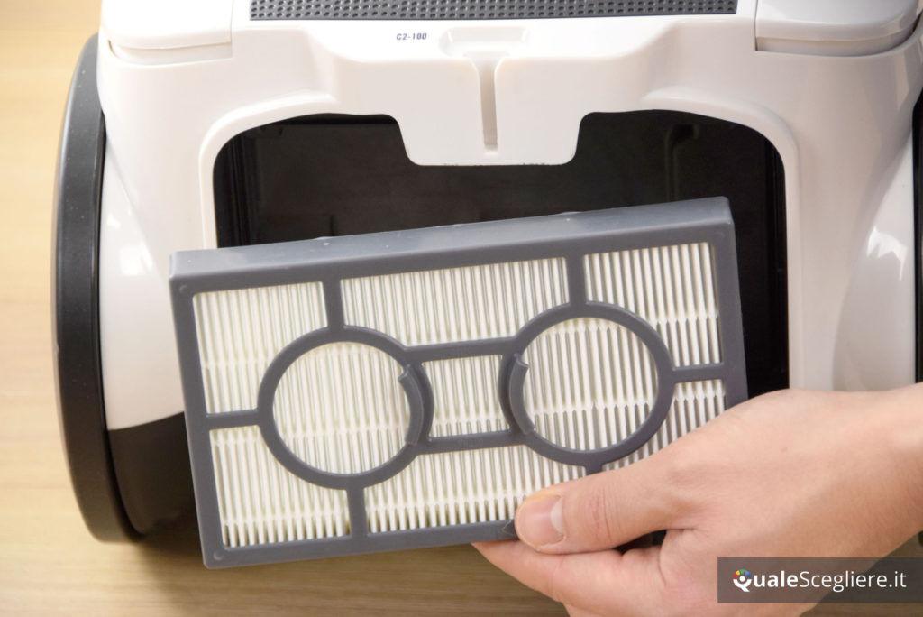 Imetec Eco Extreme Pro++ C2-100 filtro posteriore