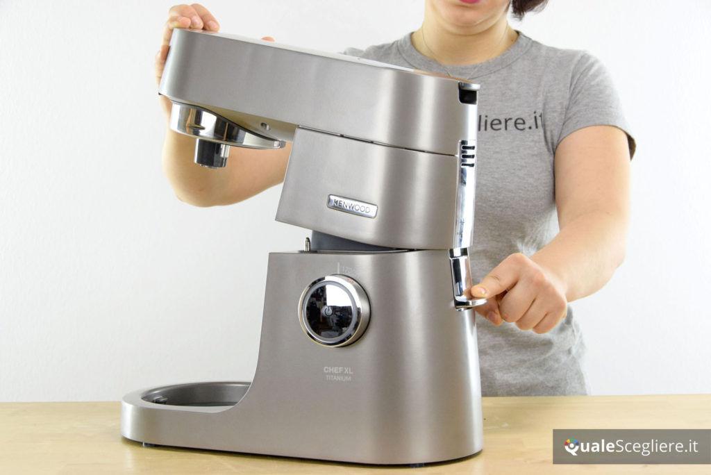 Kenwood Chef XL Titanium KVL8320S leva posteriore