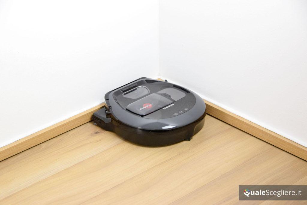 Samsung Powerbot VR7000 10 W Wifi pulizia angolo