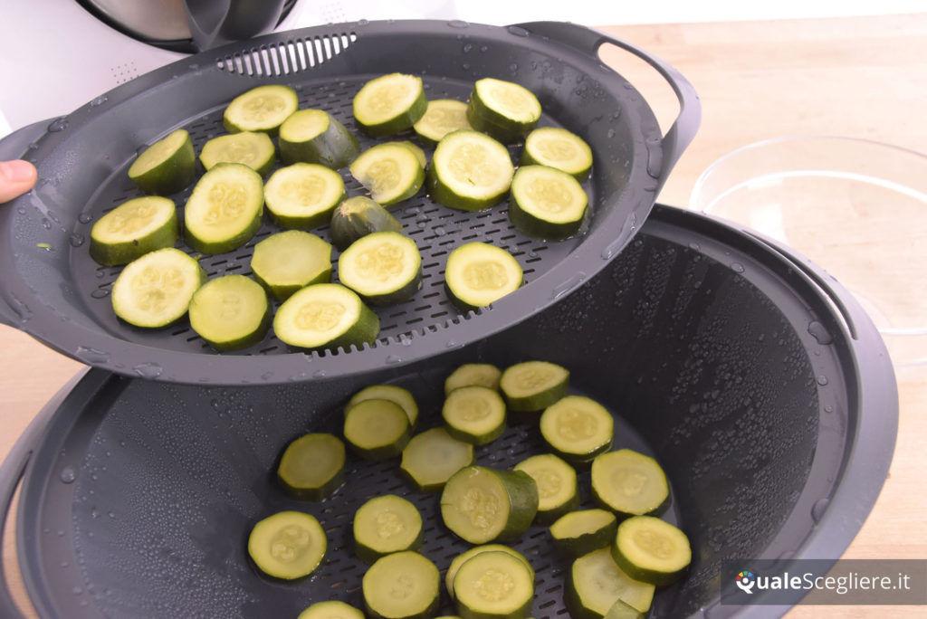 Vorwerk Bimby TM5 zucchine ottenute