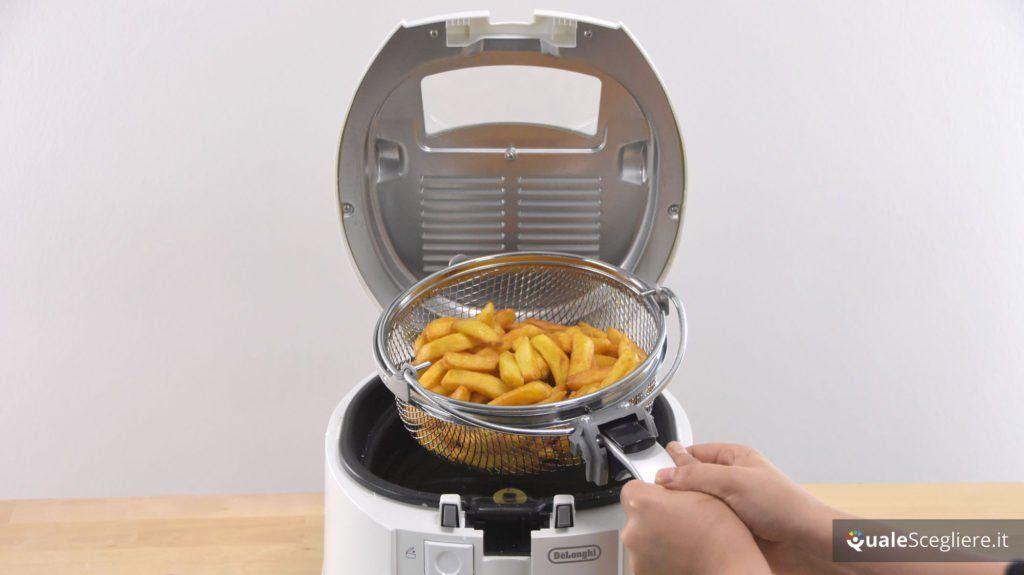 De'Longhi Rotofry F28311.W1 patate fritte ottenute