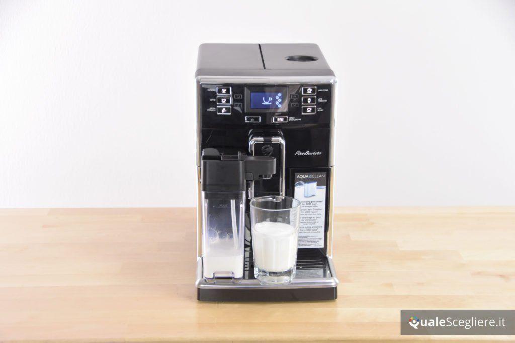 Saeco Picobaristo SM5460/10 schiuma di latte