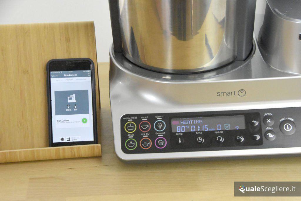 Kenwood kCook Multi Smart preparazione besciamella