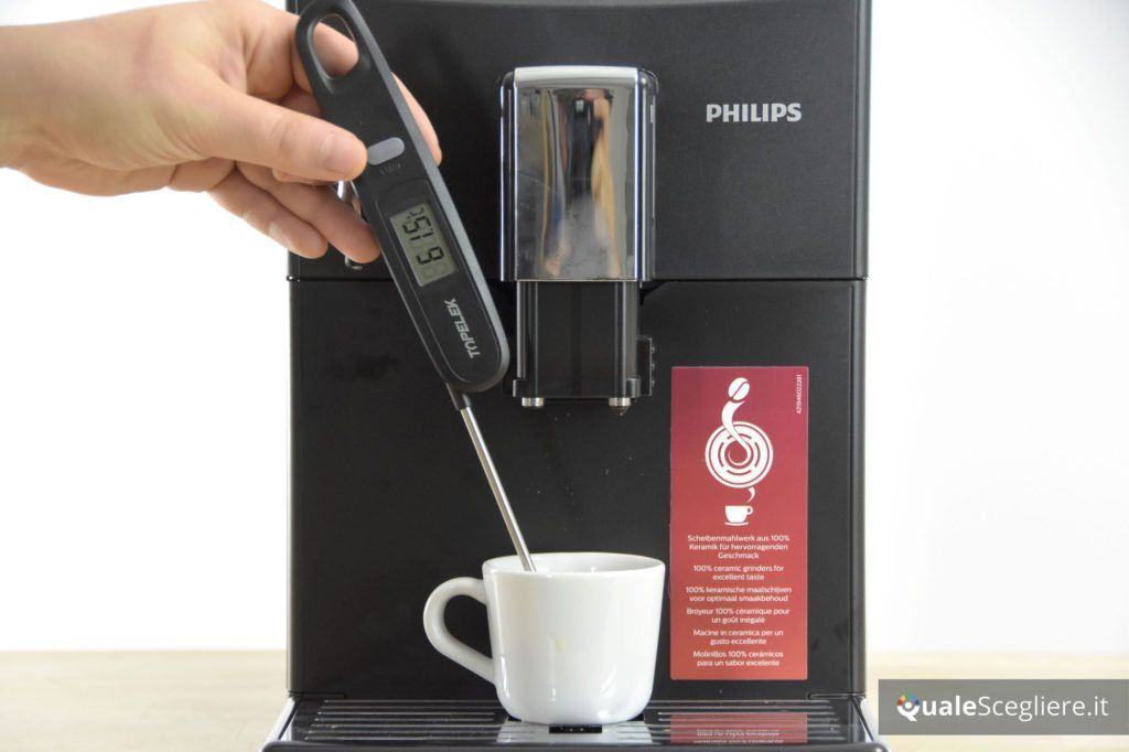 Philips 3100 Series HD8832/01 temperatura caffè