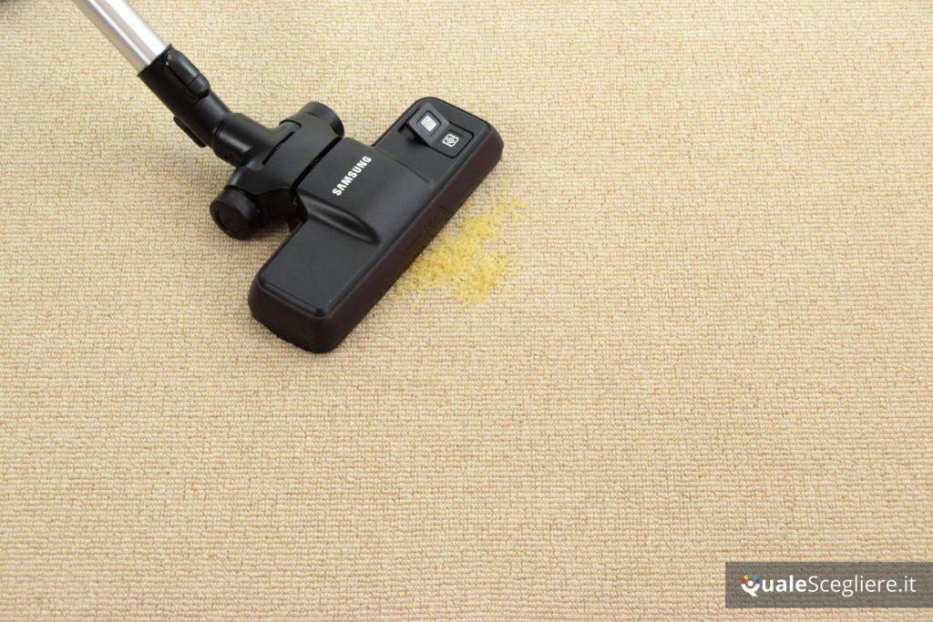 Samsung-vc7100-vc05k71f0hb-et prova pratica moquette