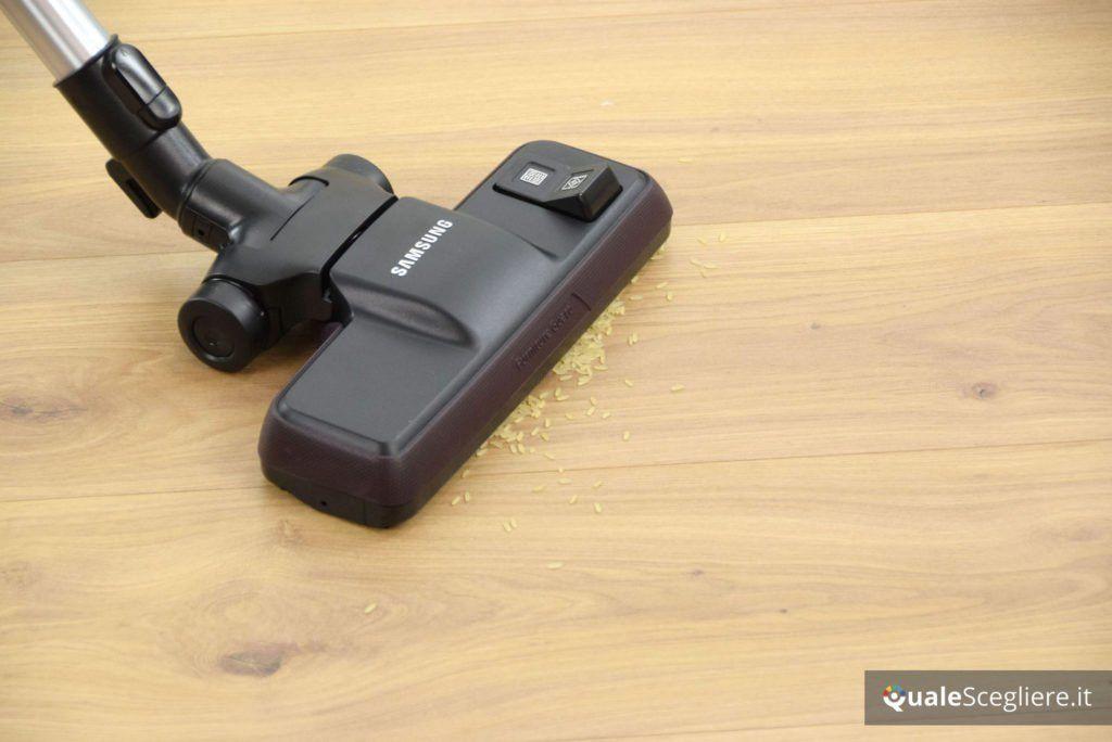 Samsung-vc7100-vc05k71f0hb-et prova pratica parquet