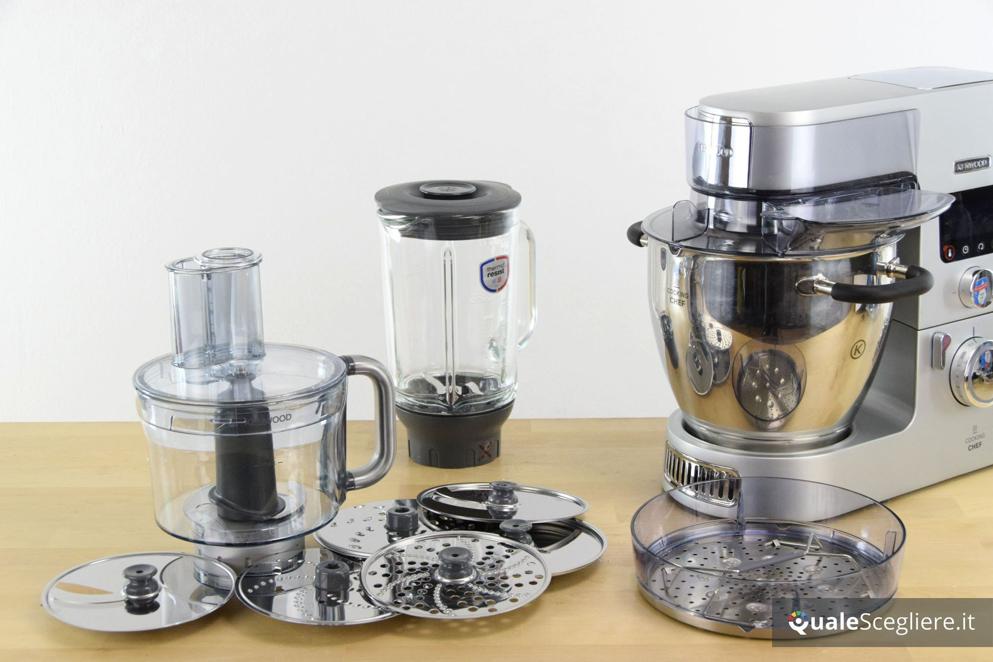Come sfruttare al meglio le planetarie Kenwood Cooking Chef?