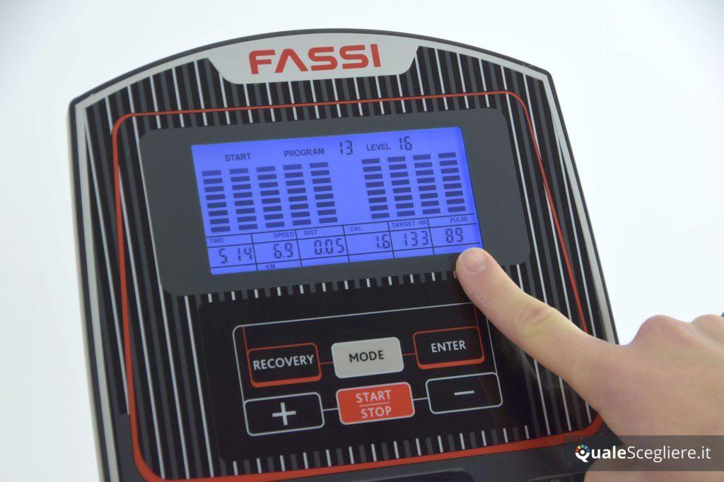 Fassi FR 300 display e funzioni