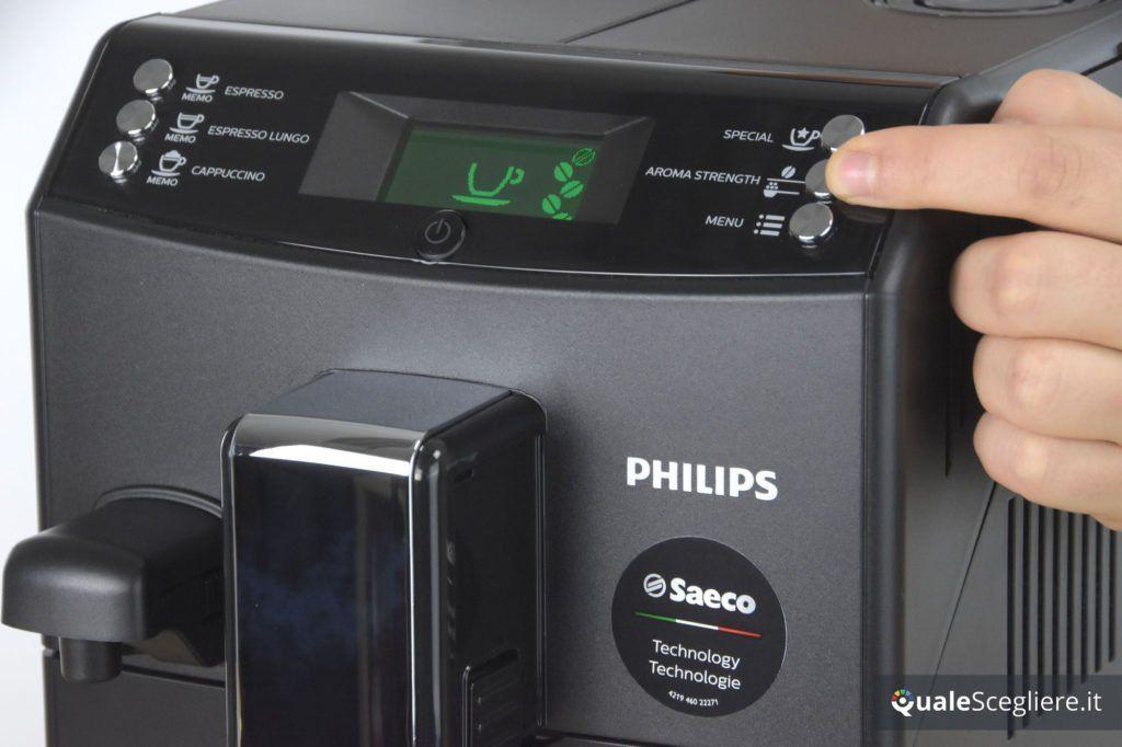 Philips 3100 Series HD8834/01 selezione impostazioni