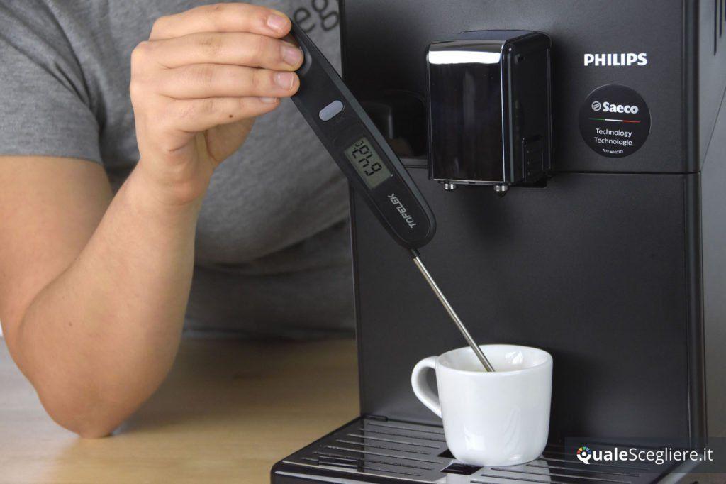 Philips 3100 Series HD8834/01 temperatura caffè