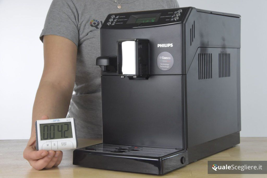 Philips 3100 Series HD8834/01 tempo erogazione