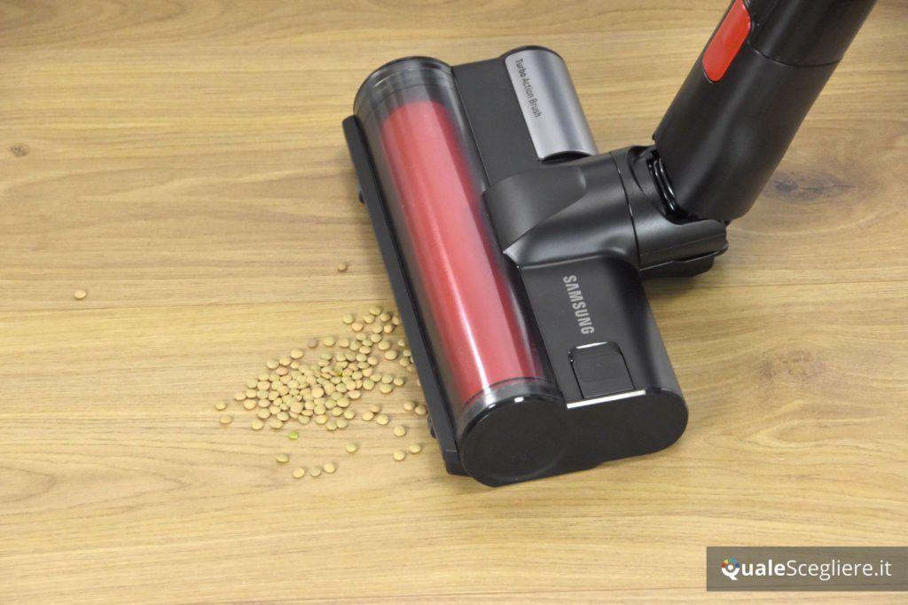 Samsung Powerstick Essential VS8000 aspirazione parquet