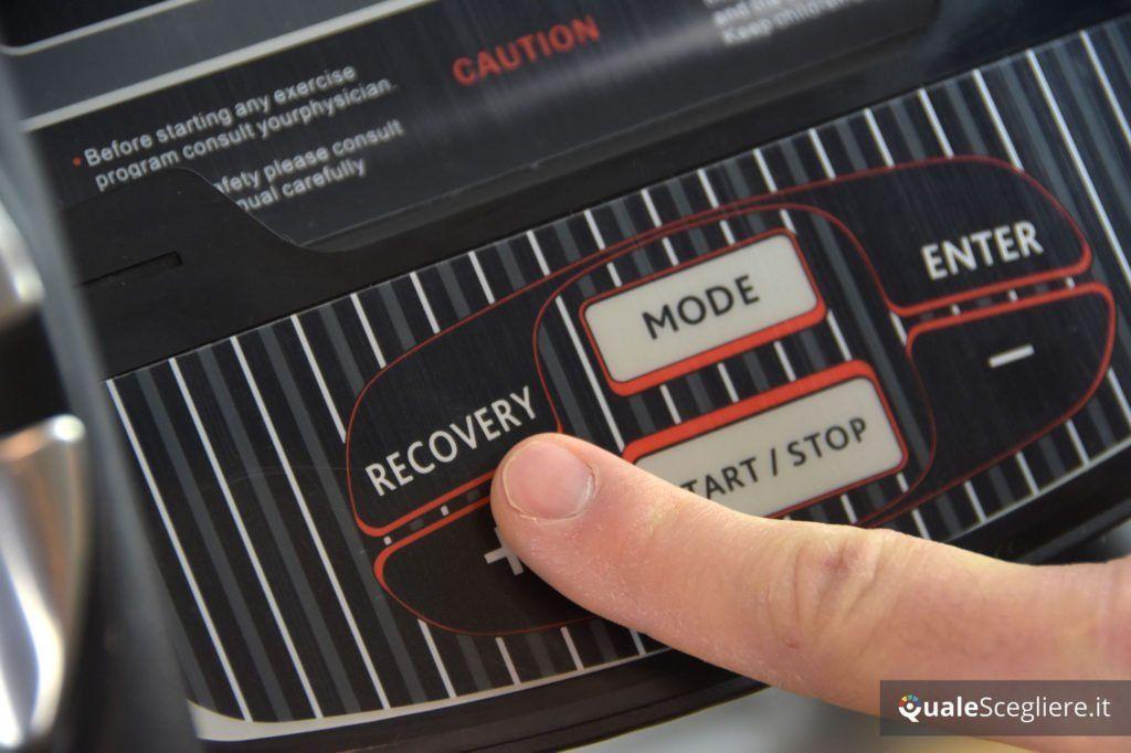 Fassi FC 760 tasto funzione recovery