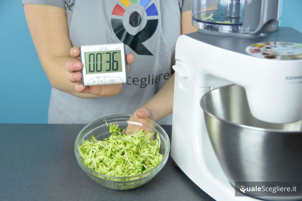 Kenwood MultiOne KHH326WH zucchina ottenuta