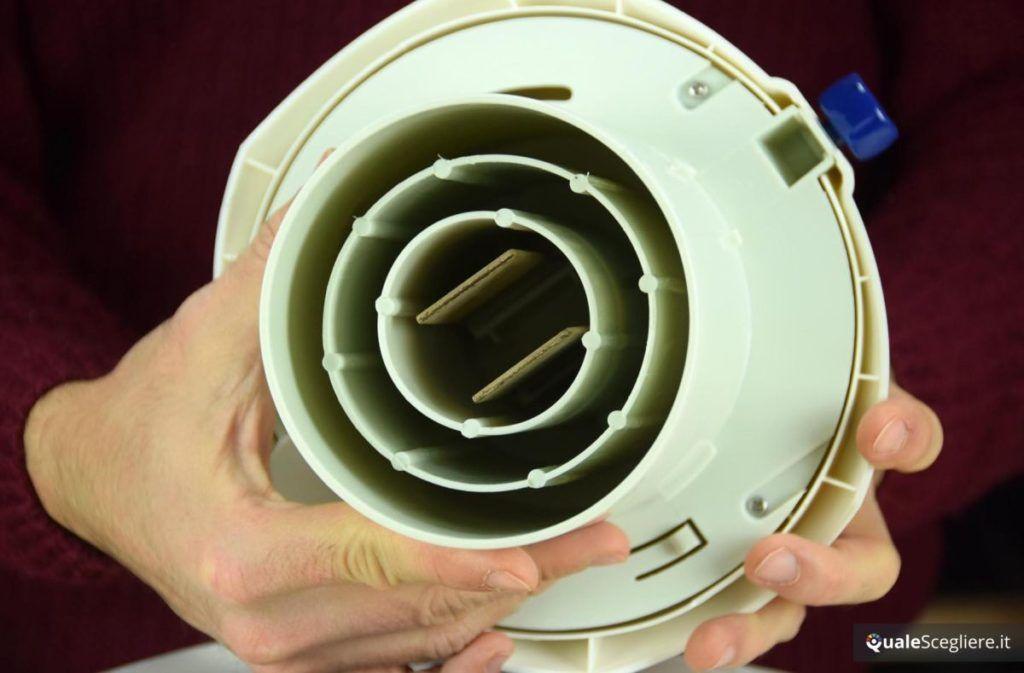 Come pulire l'umidificatore elettrodi