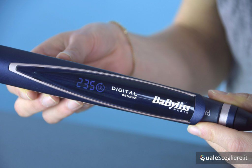 Babyliss ST500E simbolo della funzione Hair Protect