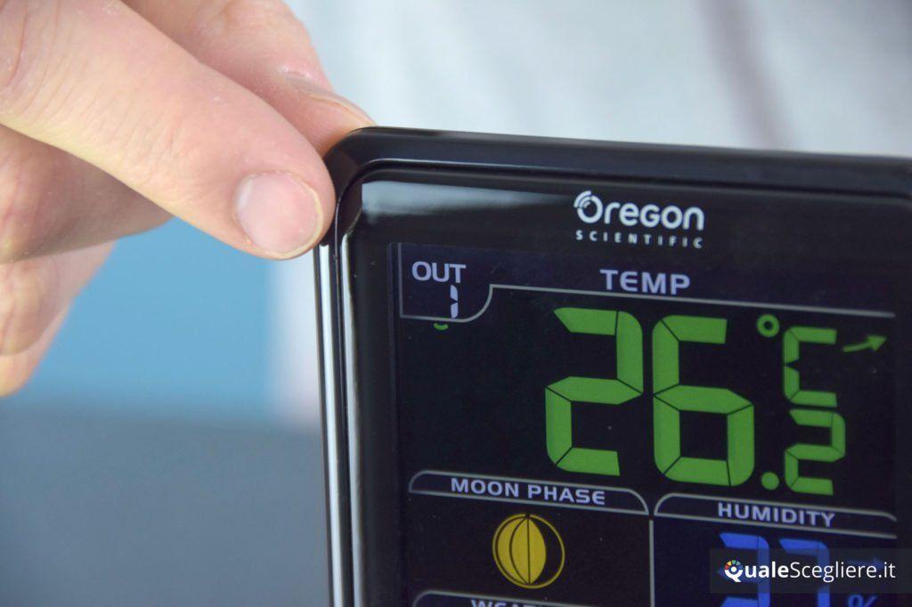 Oregon Scientific BAR208SX la nostra prova valori rilevati