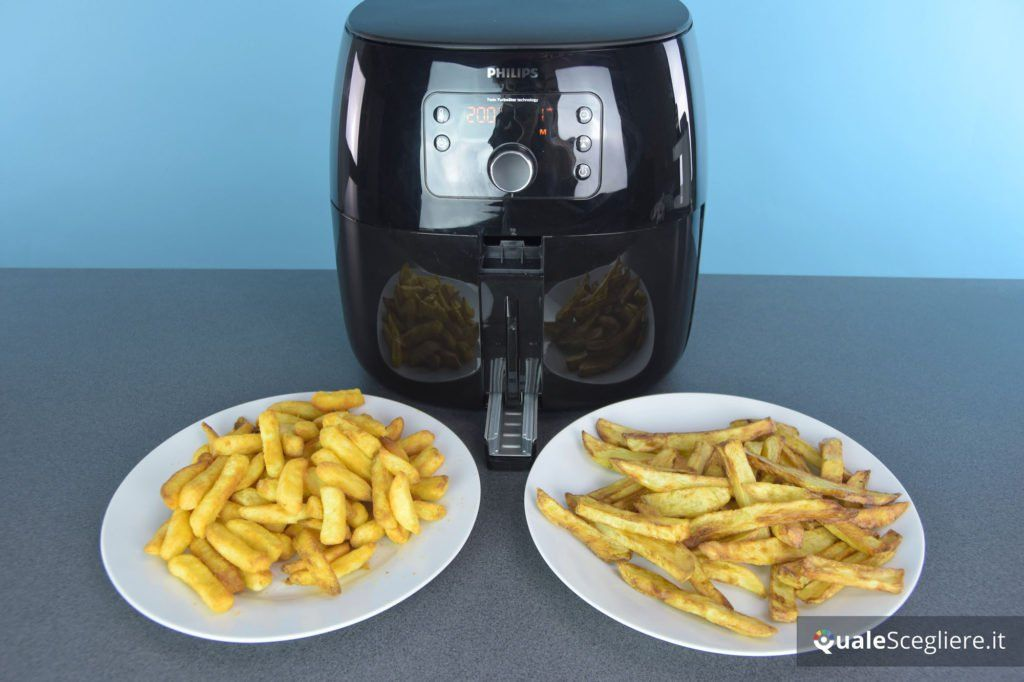 Philips HD9652/90 Airfryer XXL Avance Collection patatine surgelate vs fresche