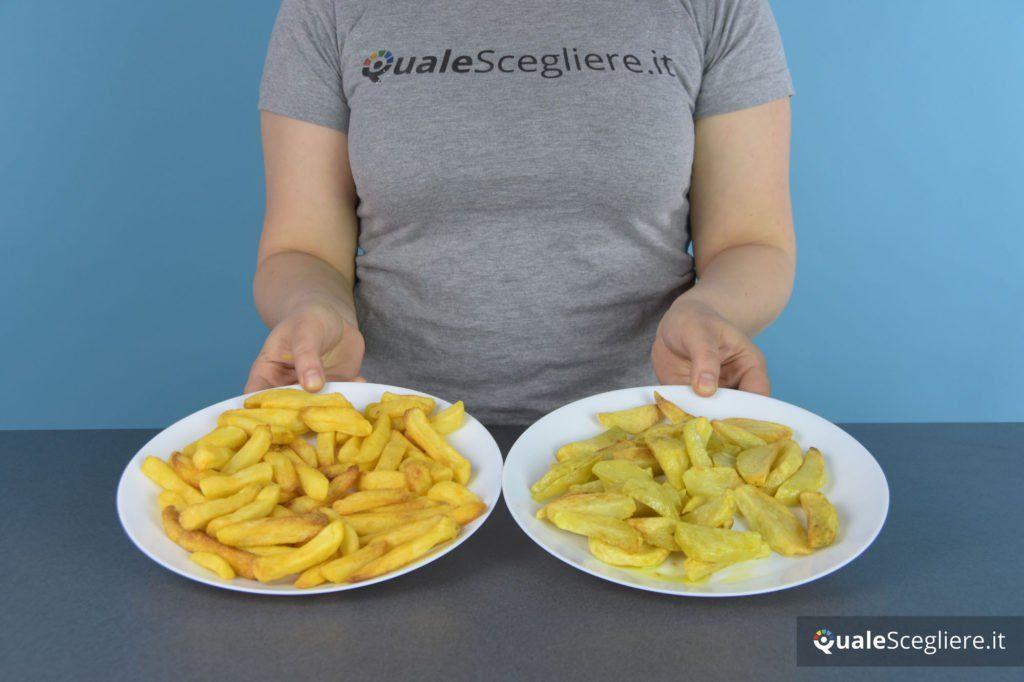 Severin FR 2455 patatine a confronto