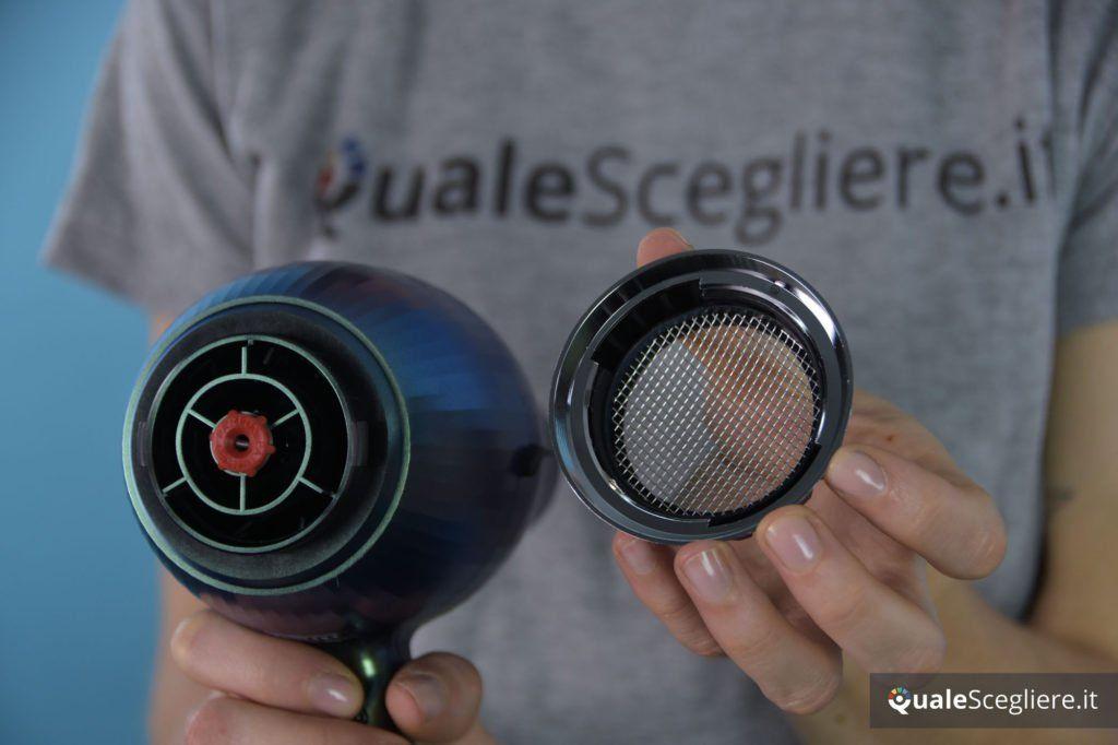 Parlux Alyon Air Ionizer Tech griglia rimovibile