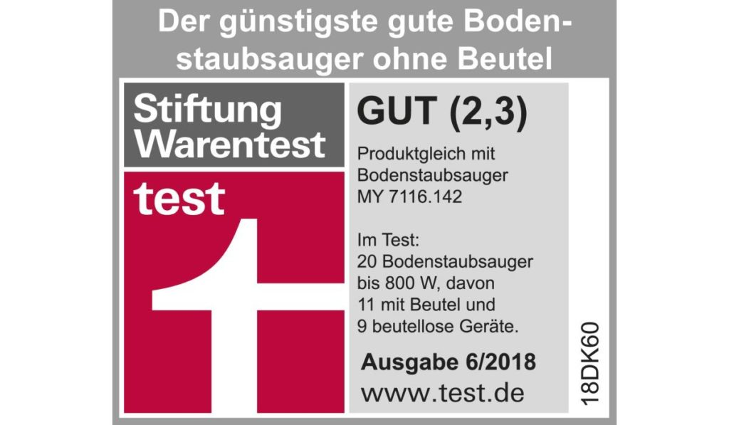 Severin My 7119 S'Special Car Pet & Carpets nonstop Stiftung Warentest