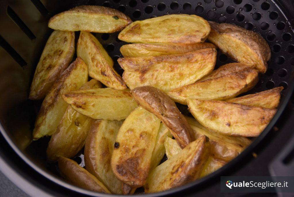 severin fr2430 patatine fresche ottenute