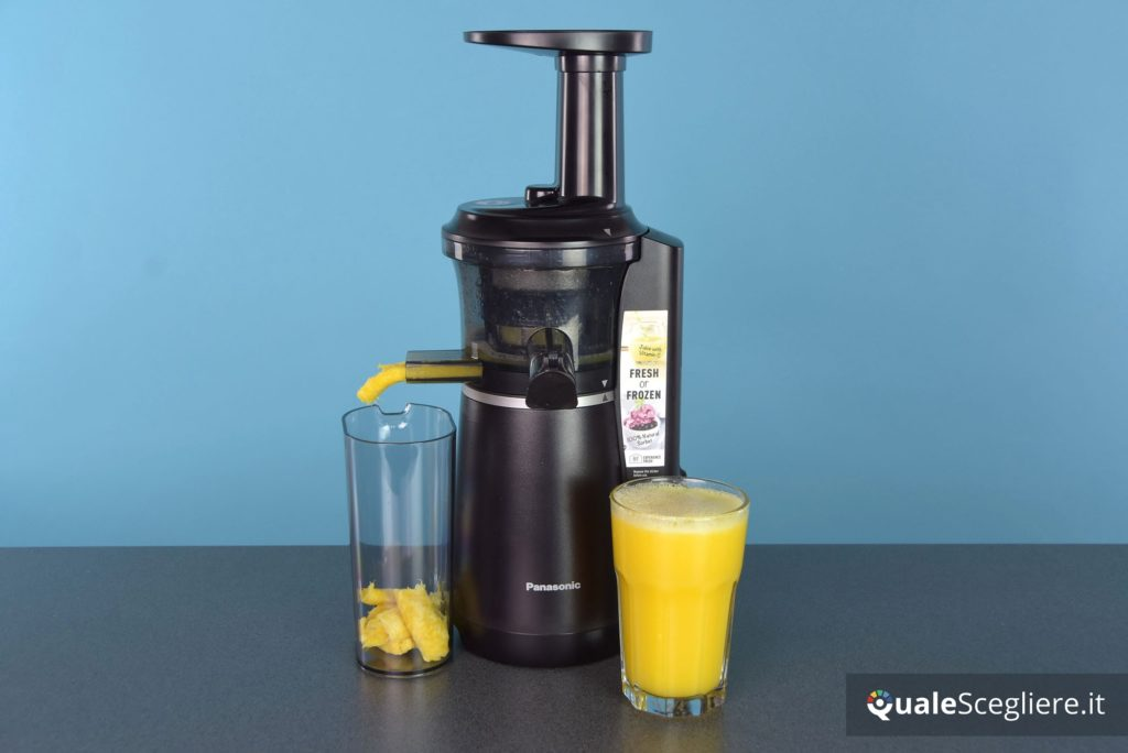 panasonic-mj-l501kxe succo arancia ottenuto