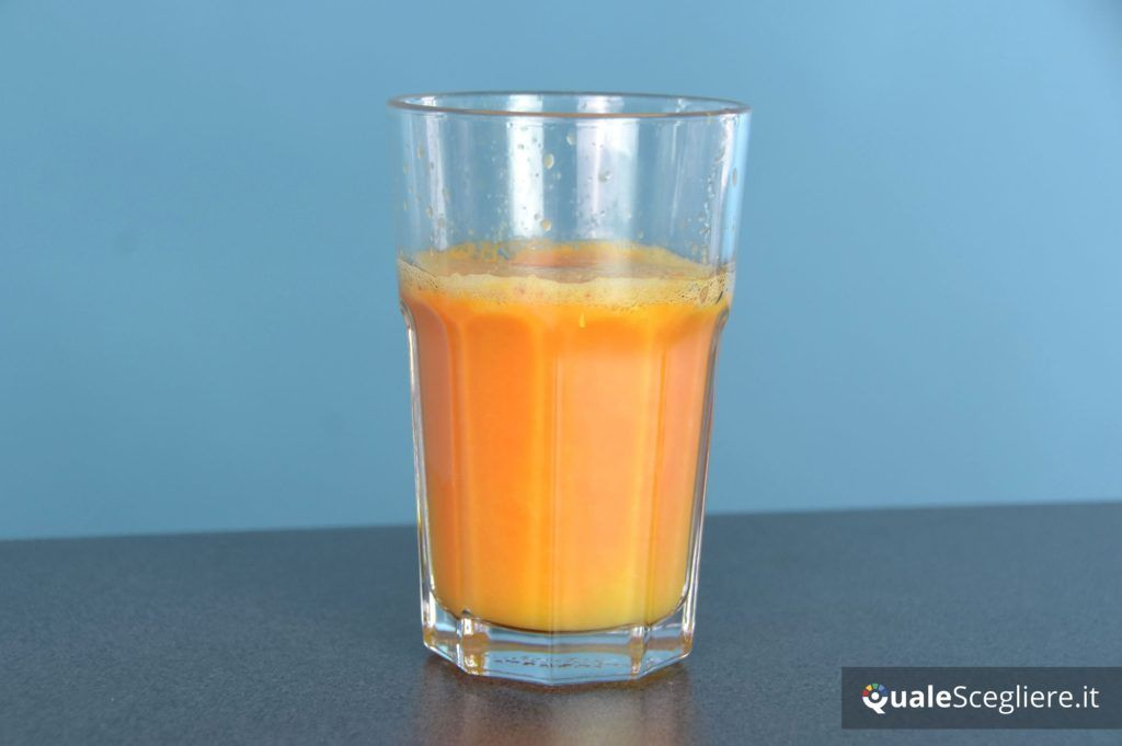 panasonic-mj-l501kxe succo carote ottenuto