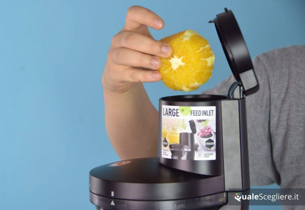 Panasonic MJ-L700KXE lavorazione arance