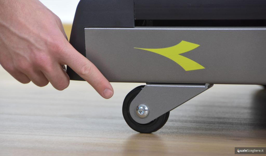 Diadora Exess 11.6 ruote per trasporto