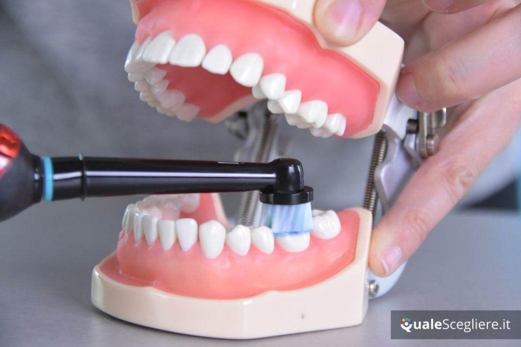 Oral-B Pro 2 2500 CrossAction spazzolamento