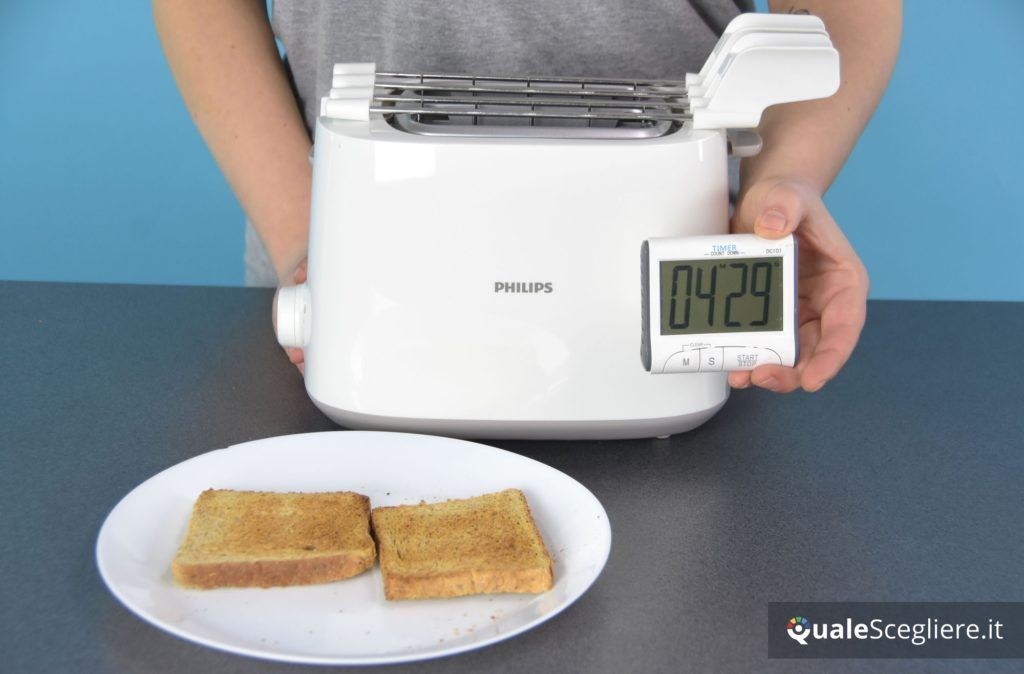 Philips HD2583/00 tempistiche doratura