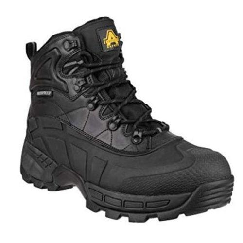 Scarpe Antinfortunistiche Invernali Uomo Donna Acciaio Scarpe di Sicurezza S3 Anti-Scivolo Calda Stivali da Lavoro