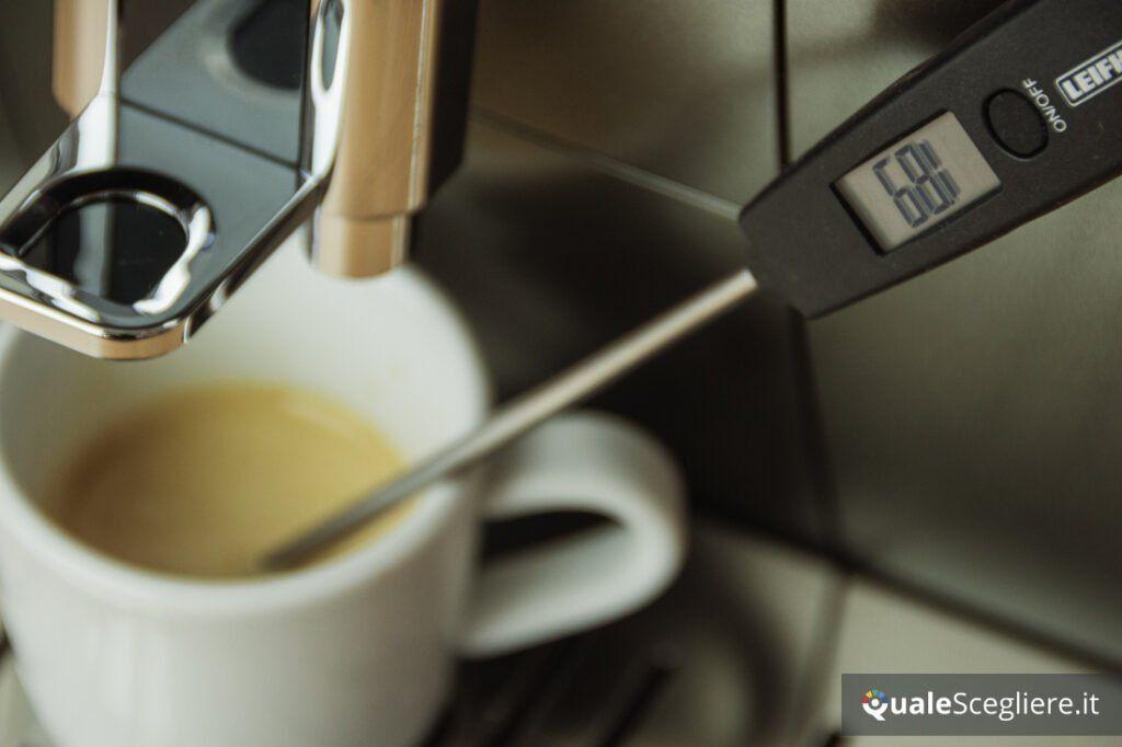 De'Longhi Aroma Bar ECAM359.37.TB temperatura caffè