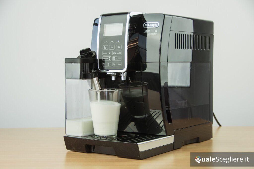 De'Longhi Dinamica Aroma Bar ECAM359.53 schiuma latte
