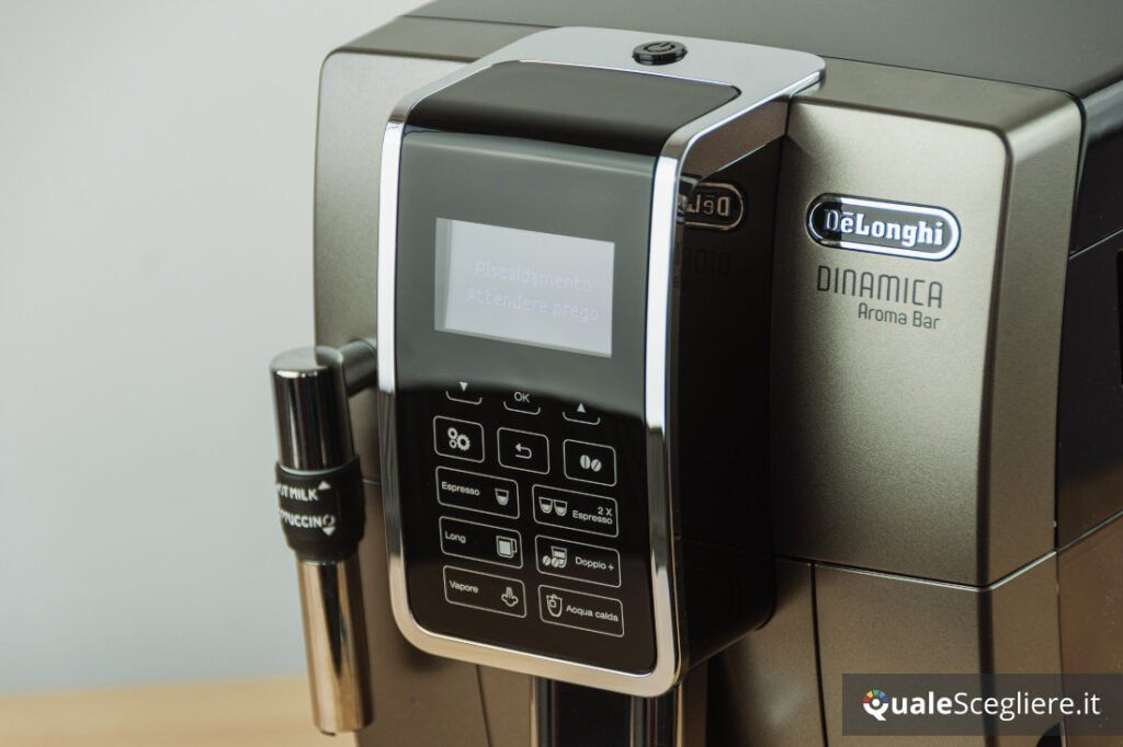 De'Longhi Aroma Bar ECAM359.37.TB display soft touch