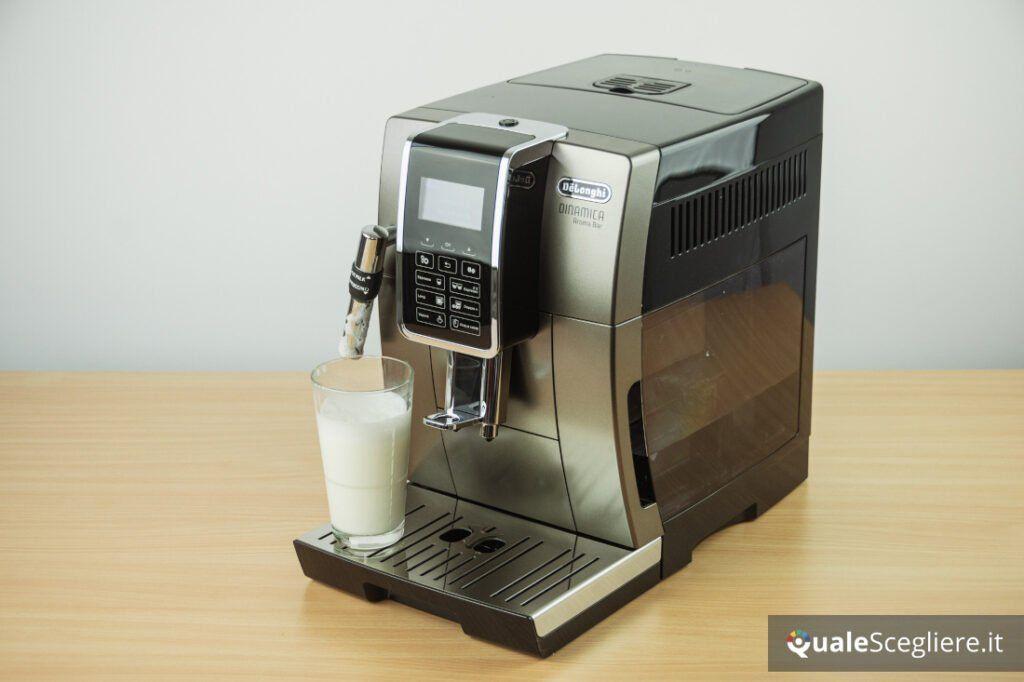 De'Longhi Aroma Bar ECAM359.37.TB schiuma latte